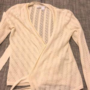 Diane von furstenberg wrap cardigan sweater P
